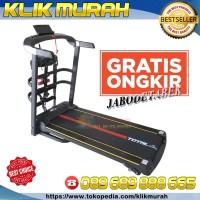 Treadmill Total / Treadmill Elektrik 3 Fungsi TL-615 / 3 Level Incline