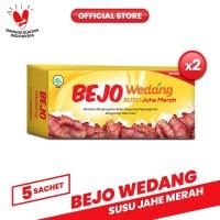 Bejo Susu Jahe Merah (SUJAMER) 2 Pack ( 10 Sachet )
