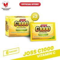 Joss C1000 Vitamin C 3 Pack (18 Sachet)