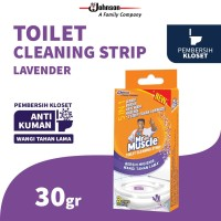 Mr. Muscle Toilet Cleaning Strip Lavender 30g