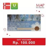 MAP Gift Dapat digunakan diseluruh MAP Store