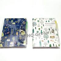 Note Book/Buku Catatan Kecil Plastik Kancing+Pulpen