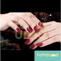 RUMAUMA Kuku Palsu Nail Art Dove Fake Nail Pesta Wedding Gift 12 Tip