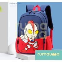 RUMAUMA Ultraman Backpack Tas Anak Ransel Waterproof Motif Hero Murah