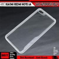 Xiaomi Redmi Note 4 4x 5 5A 6 7 8 9 Pro Max Case Auto Focus Jelly - Note 5a NF, Bening