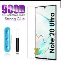 Tempered Glass Full Cover Edge Glue Laser Uv Samsung Note 20 Ultra