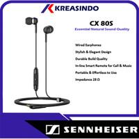Sennheiser CX 80S In Ear Earphone Garansi Resmi