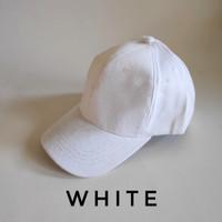topi rapel cakop unisex (pria wanita) warna hitam polos murah bagus