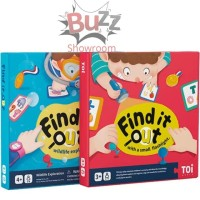 Find It Out with small flashlights wildlife exploration Mainan Anak