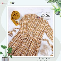 Gamis Katia by Yasmeera - Gamis Motif Murah