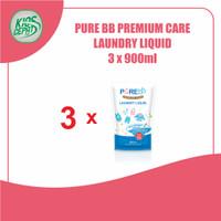 [SUPER BUNDLING] Pure BB Laundry Liquid Refill 900ml isi 3Pouch