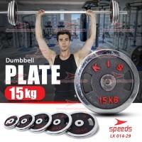 Plate Dumbell Plate Barbel 15 kg Diameter 3 cm Dumbell Plate 014-29