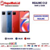 REALME C12 RAM 3/32GB GARANSI RESMI REALME TERMURAH