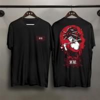 TP Kaos Distro Pria Samurai Onna DB Atasan Pria T-shirt Pria