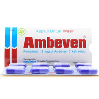 AMBEVEN isi 10 kapsul/strip obat wasir