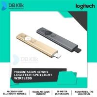 Laser Pointer Wireless Logitech Spotlight Presenter - Hitam