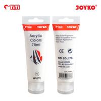 Titi Acrylic Color / Cat Akrilik merk Titi 75 ML - JOYKO - Putih