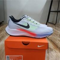 Sepatu Sport Nike Pegasus 37 Grey White (sneakers pria)