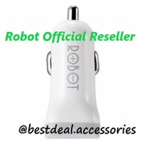 Robot RT-C06 Car Charger 2.4A Dual USB - Original Saver Mobil Vivan