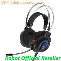 Robot RH-G20 Headphone Gaming HP Wired Headset Original