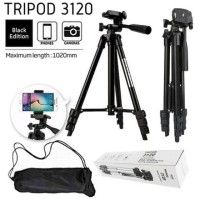 Tripod 1 Meter 3120 BLack Edition For Kamera / Handphone / Smartphone
