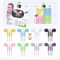 Headset Stereo U19 Macaron Handsfree Extra Bass Earphone U 19