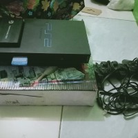 PlayStation 2 / PS 2 - Hitam