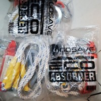 Safety Lanyard Absorber double big hook + Carabiner GOSAVE