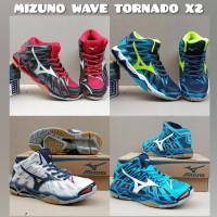 Sepatu volly mizuno wave tornado X2 original