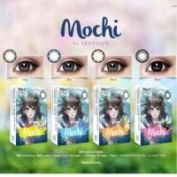 Softlens X2 Mochi 16mm MINUS (-0.50 s/d -6,00) - Hitam