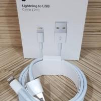 KABEL DATA ORIGINAL 2 METER 2M LIGHTNING LIGHTING TO USB IPHONE 5 5S 6