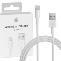 KABEL DATA LIGHTING LIGHTNING TO USB 2 METER 2M ORIGINAL IPHONE 7 PLUS