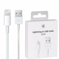 KABEL DATA LIGHTING LIGHTNING TO USB 2 METER 2M ORIGINAL IPHONE XS MAX