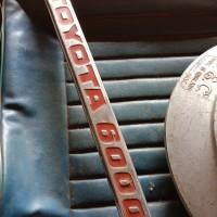 Emblem Toyota 6000 Rare NOS