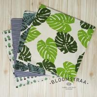 Custom Sarung Bantal Sofa 55x55cm Kanvas Canvas Sofa Cushion Cover