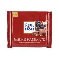 Ritter Sport Chocolate Raisin Hazelnut [ 100 gr]