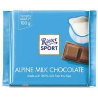 Ritter Sport Alpine Milk Chocolate [ 100 gr]