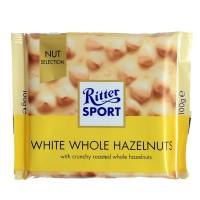 Ritter Sport White Whole Hazelnut Chocolate [100 gr]