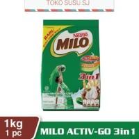 MILO 3 IN 1 1 KG / MILO ACTIV-GO 3in1 1 KG/ MILO 1KG 3in1 + SUSU