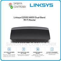 LINKSYS E2500-AP DUAL BAND N600 WIRELESS ROUTER