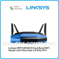 LINKSYS WRT1900ACS-AP Dual-Band WiFi Router with Ultra-Fast WRT1900AC