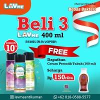 Lavme Anti Bacterial Spray 400ml 3pcs - Free Dr.SW Seharga 150ribu
