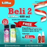 Lavme Anti Bacterial Spray 400ml 2pcs - Free Dr.SW Seharga 48ribu