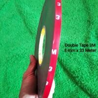 Double Tape 3M 8 mm x 33 meter