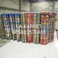 Karpet lantai tebal 2mm karpet motif 120x180 cm karpet karakter spons
