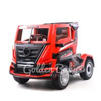 mobil mobilan mainan anak aki truck trailer container 8 roda