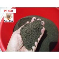 PELET PF500 PAKAN ikan bibit LELE NILA GURAME eceran 1 Kg