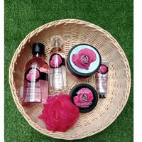 The Body Shop Body Care Paket Seserahan British Rose Termurah