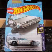BACK TO THE FUTURE TIME MACHINE HOVER MODE - HOT WHEELS
