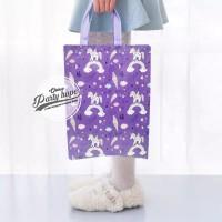 Tas Souvenir Ulang Tahun Anak / Goodie Bag / Tas ultah HBD Unicorn - M